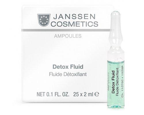 Janssen Омолаживающая детокс-сыворотка с лифтинг-эффектом для всех типов кожи Detox Fluid