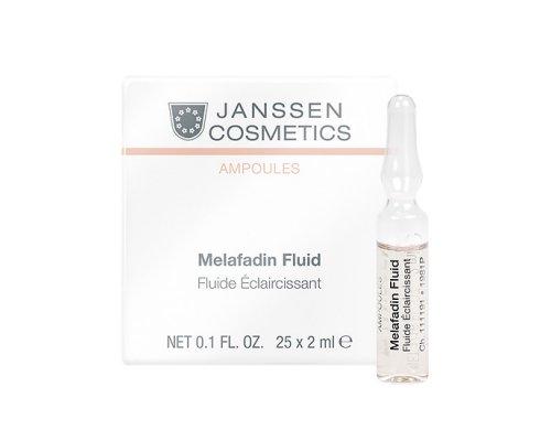 Осветляющие ампулы для лица Janssen Мela-fadin (skin lightening)