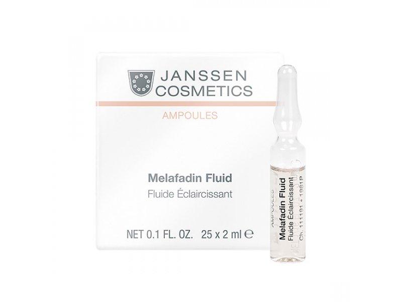 Janssen Осветляющие ампулы Мela-fadin (skin lightening), 7 х 2 мл