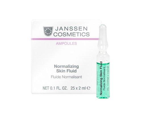 Janssen Нормализующий концентрат для ухода за жирной кожей Normalizing Fluid