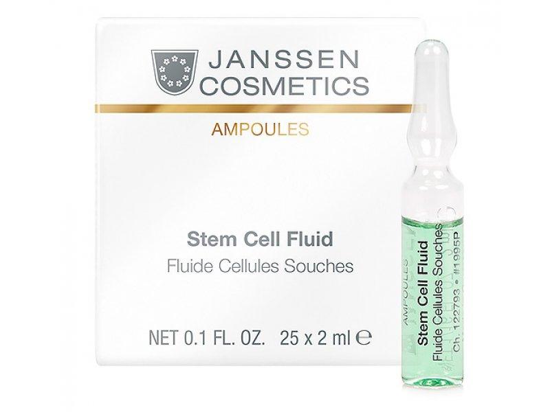 Janssen Сыворотка в ампулах для клеточного обновления Stem Cellular Fluid   Применение