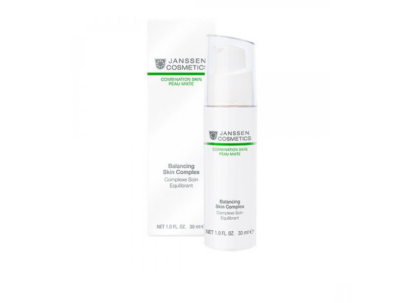 Janssen Регулирующий концентрат Balancing Skin Complex  Применение