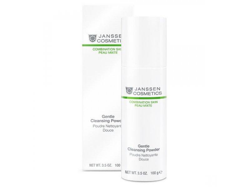 Janssen Мягкая очищающая пудра Gentle Cleansing Powder  Применение