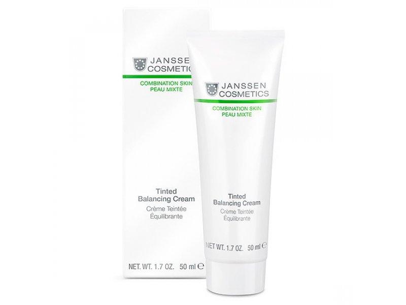 Janssen Балансирующий крем с тонирующим эффектом Tinted Balancing Cream  Применение