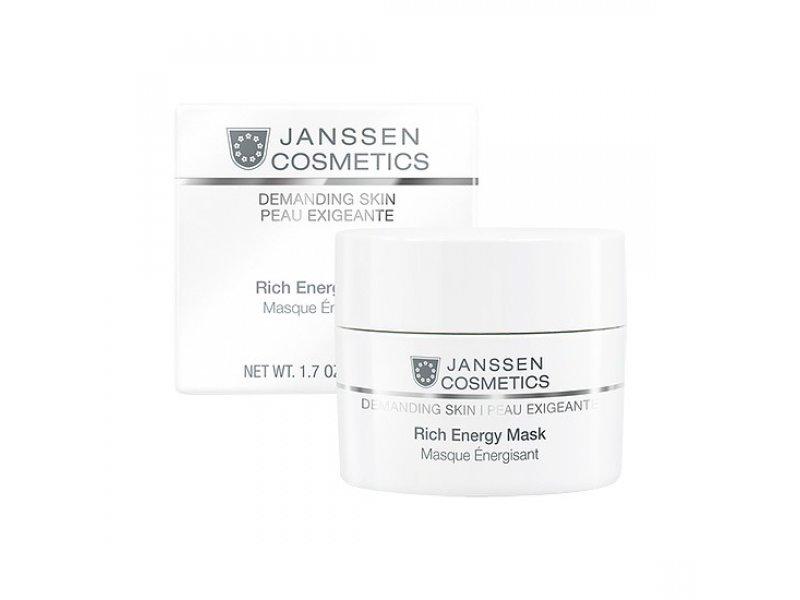 Энергонасыщающая регенерирующая маска Janssen Cosmetics Rich Energy Mask  Применение