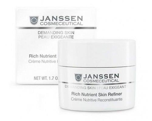 Janssen Обогащенный дневной питательный крем (SPF 15) Rich Nutrient Skin Refiner