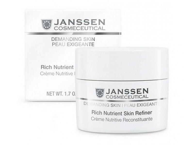 Обогащенный дневной питательный крем Janssen Cosmetics Rich Nutrient Skin Refiner SPF 15   Применение