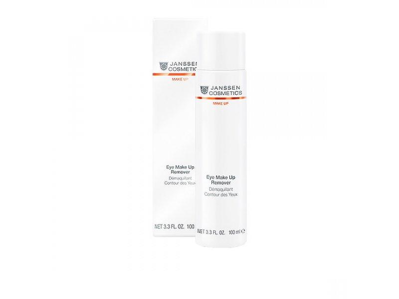 Janssen Лосьон для очищения кожи контура глаз и губ от макияжа Eye Make Up Remover   Применение