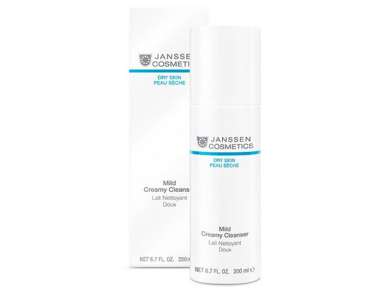 Janssen Нежная очищающая эмульсия Mild Creamy Cleanser  Применение