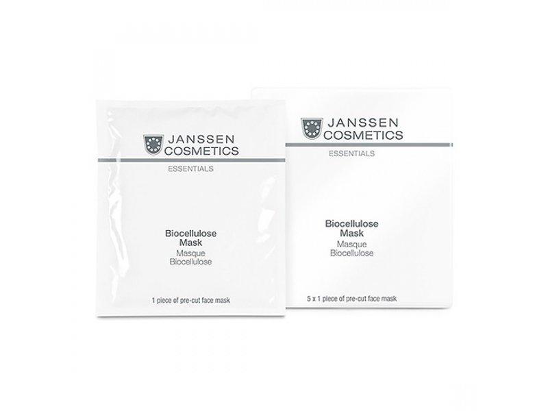 Janssen Интенсивно-увлажняющая лифтинг-маска Biocellulose Mask  Применение