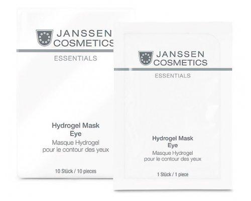 Укрепляющие гидрогель-патчи для кожи вокруг глаз  Janssen Hydrogel Mask Eye