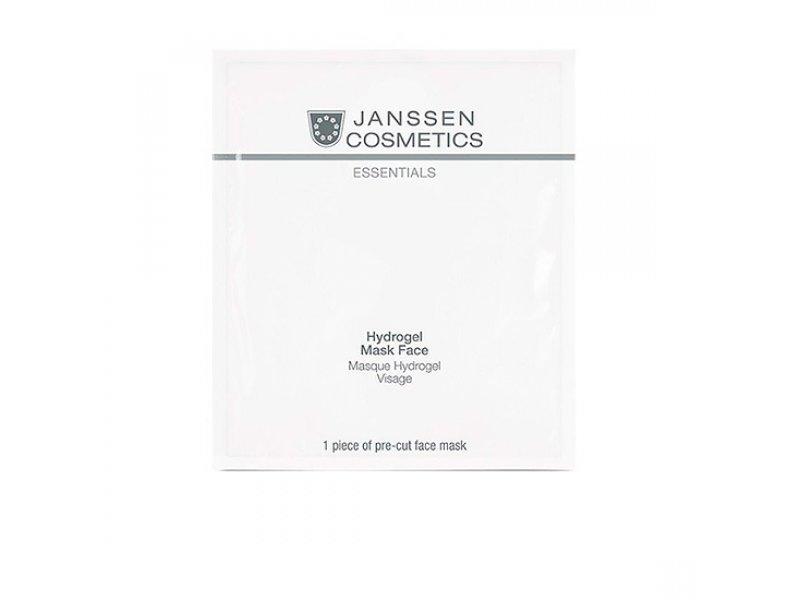 Janssen Укрепляющаягидрогель-маска для лица Hydrogel Mask Face, 1 шт