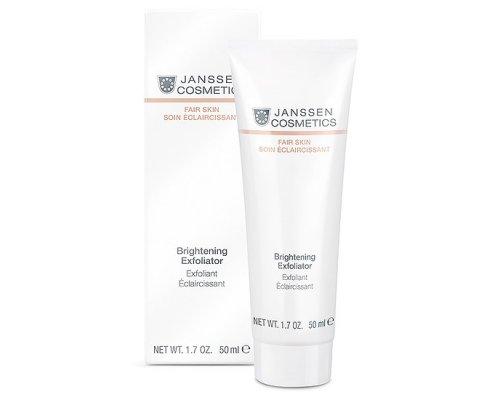 Janssen Пилинг-крем для выравнивания цвета лица Brightening Exfoliator