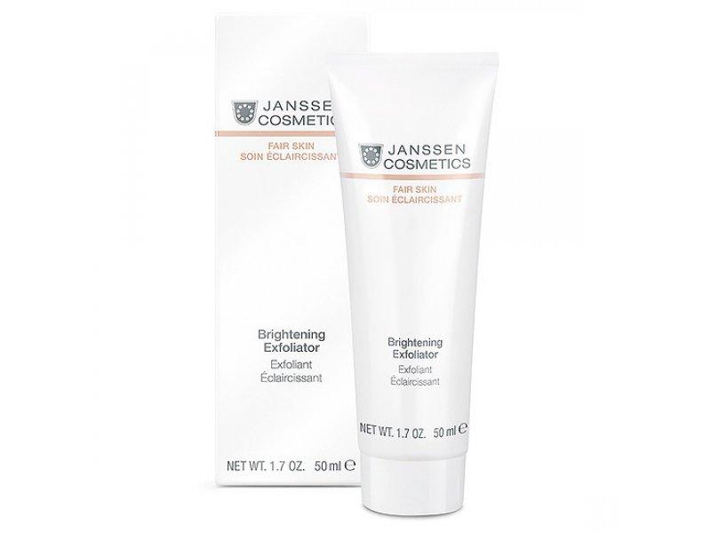 Janssen Пилинг-крем для выравнивания цвета лица Brightening Exfoliator  Применение