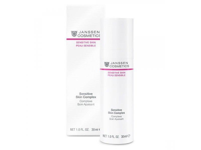 Janssen Восстанавливающий концентрат для чувствительной кожи Sensitive Skin Complex  Применение