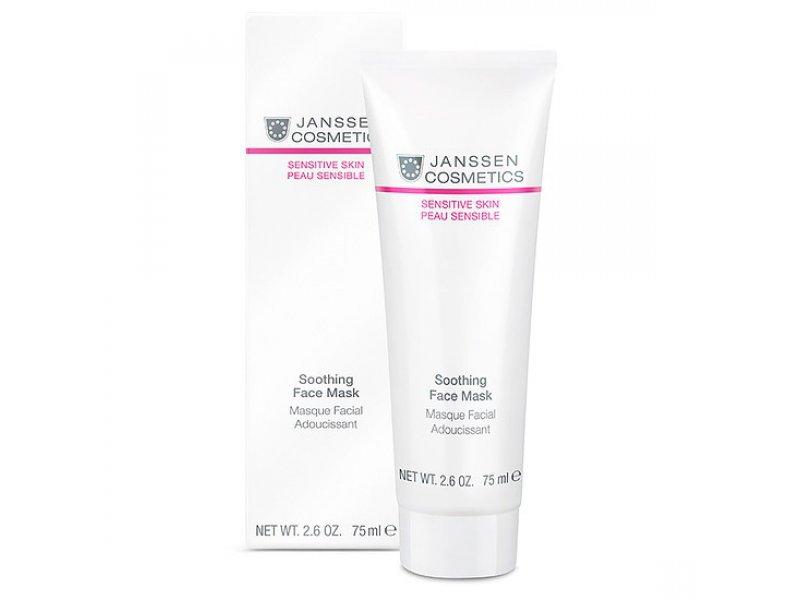 Janssen Успокаивающая смягчающая маска «Скорая помощь» Soothing Face Mask  Применение