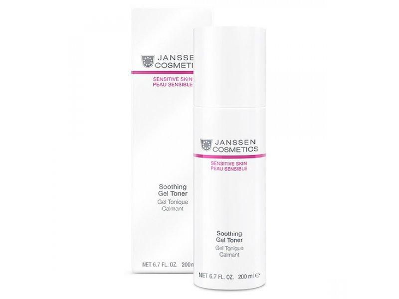 Janssen Успокаивающий тоник для чувствительной кожи Soothing Gel Toner  Применение