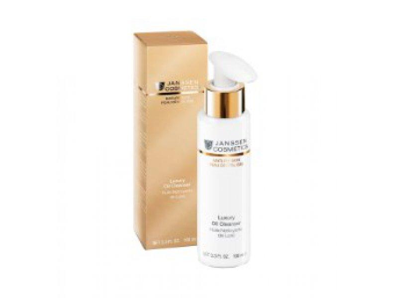 Janssen Роскошное очищающее масло Luxury Oil Cleanser  Применение