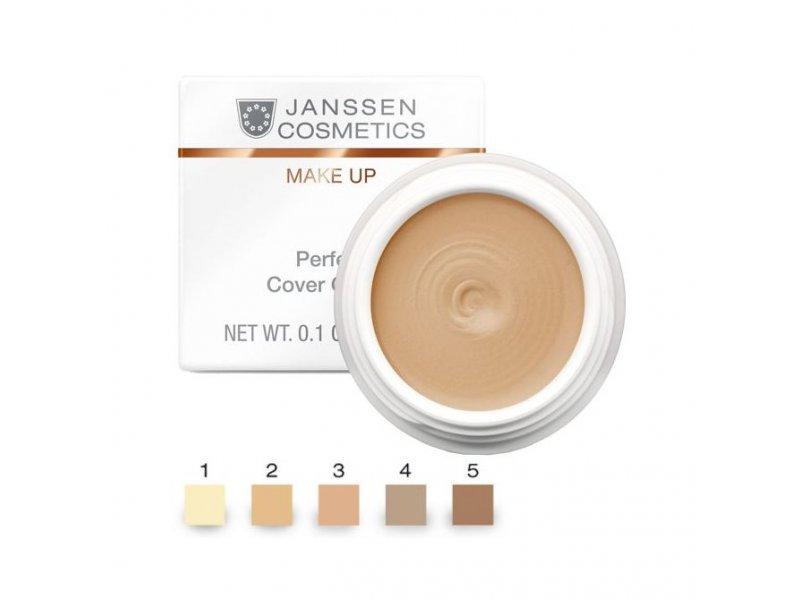 Тональный крем-камуфляж (тон 3) Janssen Perfect Cover Cream  Применение