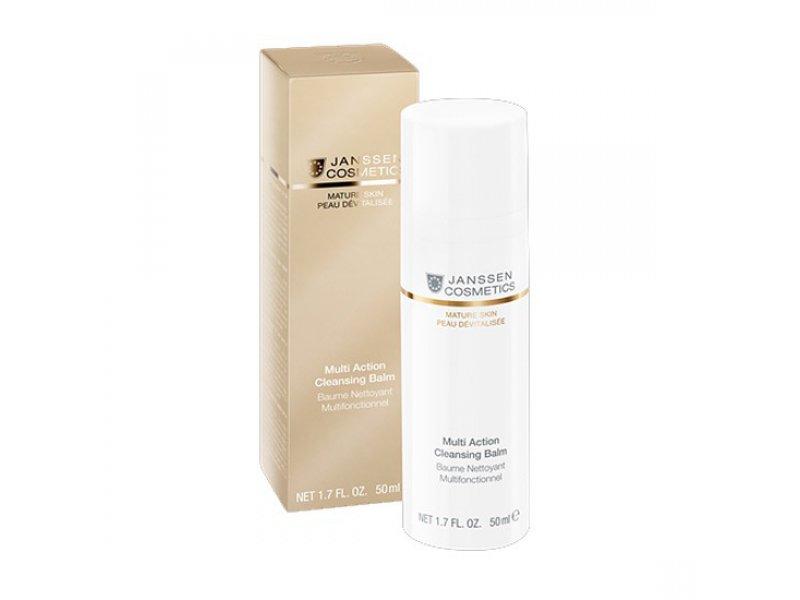 Мультифункциональный бальзам для очищения чувствительной кожи лица Janssen Multi Action Cleansing Balm  Применение