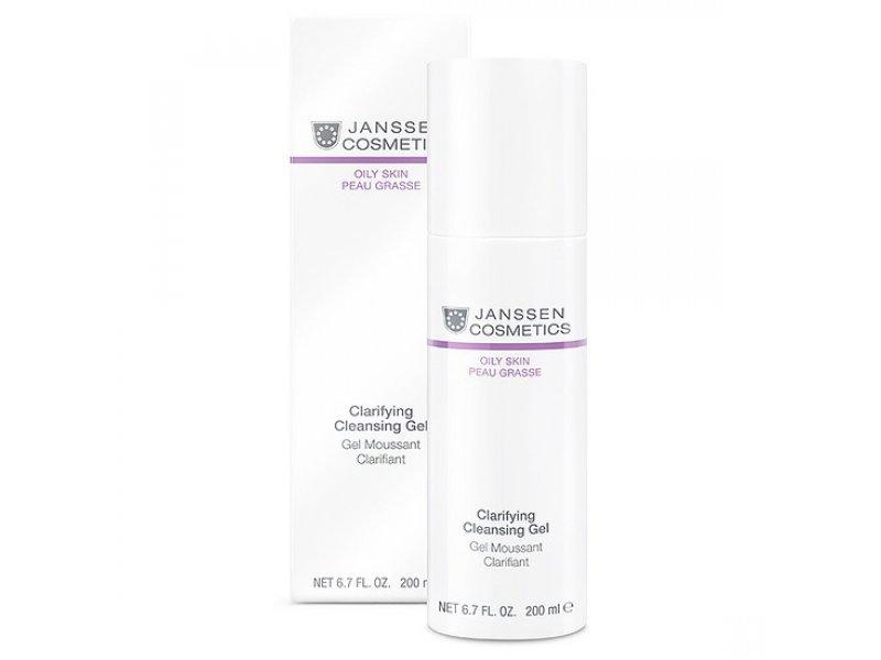 Janssen Очищающий гель Clarifying Cleansing Gel   Применение