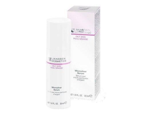 Сыворотка с антибактериальным действием для жирной воспаленной кожи Janssen Cosmetics Microsilver Serum