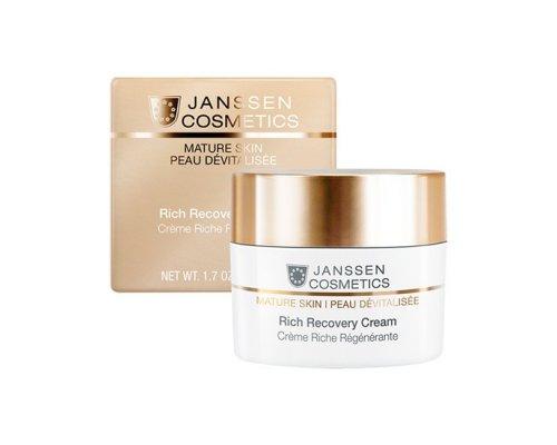 Janssen Обогащенный anti-age регенерирующий крем Rich Recovery Cream