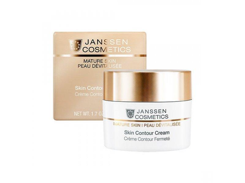 Janssen Обогащенный anti-age лифтинг-крем Skin Contour Cream   Применение