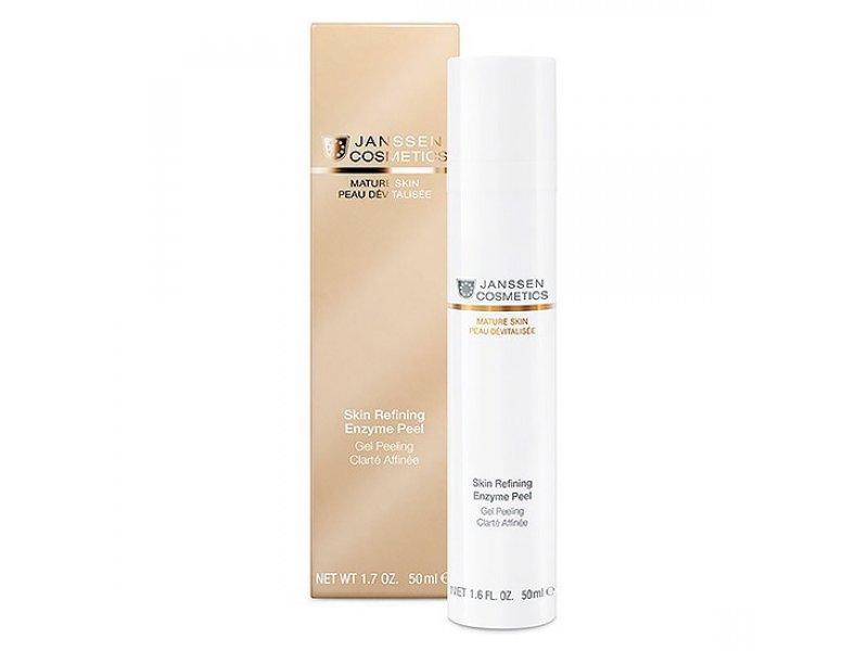 Janssen Обновляющий энзимный гель для лица Skin Refining Enzyme Peel   Применение