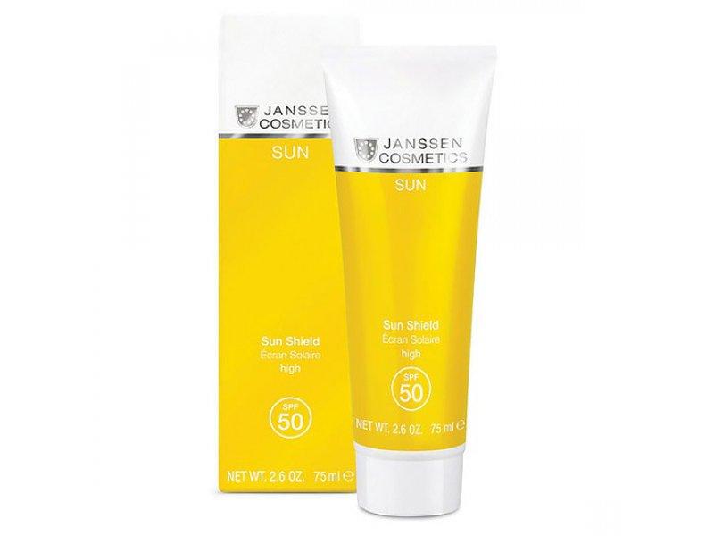 Солнцезащитная эмульсия для лица и тела Janssen Cosmetics Sun Shield SPF 30  Применение