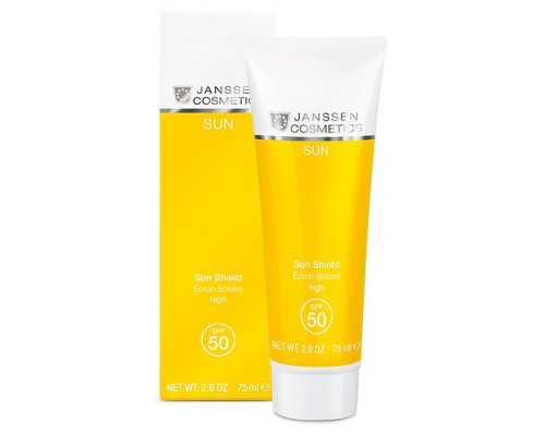 Janssen Эмульсия для лица и тела с максимальной защитой Sun Shield SPF 50