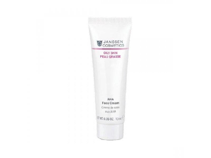 Лёгкий активный крем с фруктовыми кислотами Janssen AHA Face Cream  Применение