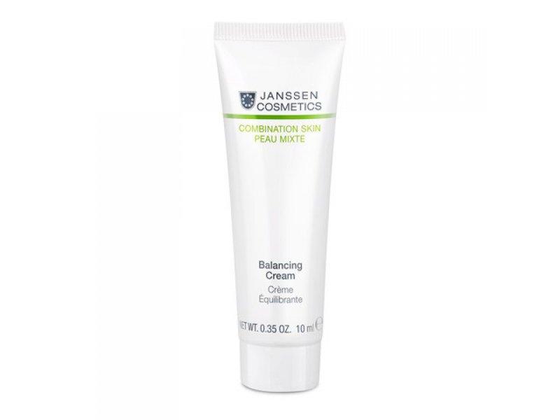 Балансирующий антивозрастной крем для лица Janssen Cosmetics Balancing Cream Janssen  Применение