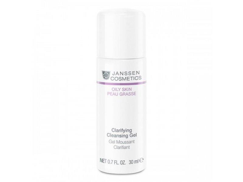 Очищающий гель для лица  Janssen Clarifying Cleansing Gel   Применение