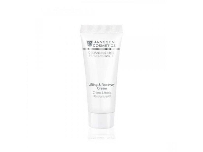 Восстанавливающий крем для лица с лифтинг-эффектом  Janssen Lifting & Recovery Cream  Применение