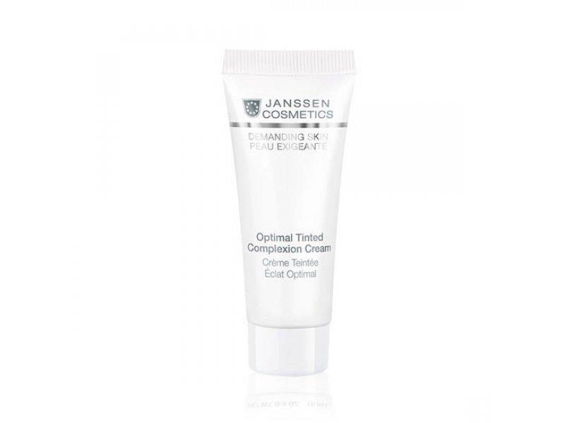 Дневной крем Оптимал Комплекс  Janssen Optimal Tinted Complexion Cream SPF 10  Применение