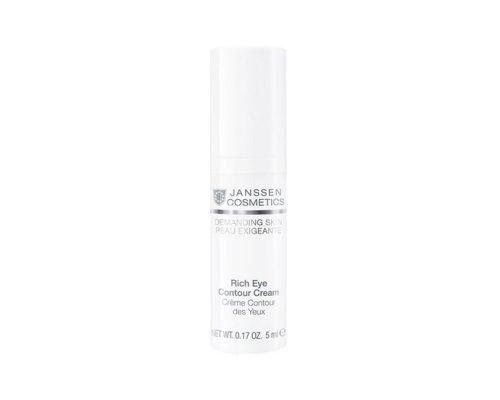 Питательный крем для кожи вокруг глаз  Janssen Rich Eye Contour Cream