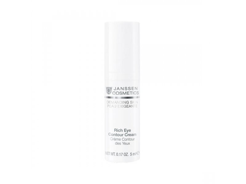 Janssen Питательный крем для кожи вокруг глаз Rich Eye Contour Cream  Применение