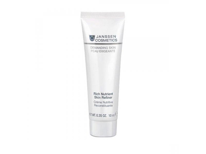 Janssen Обогащенный дневной питательный крем (SPF 15) Rich Nutrient Skin Refiner  Применение