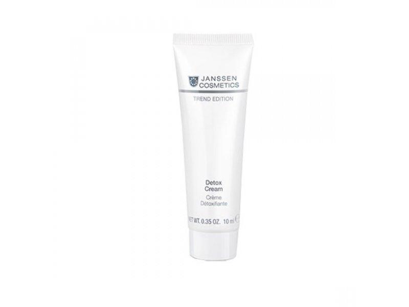 Антиоксидантный детокс-крем Janssen Cosmetics Skin Detox Cream Janssen  Применение