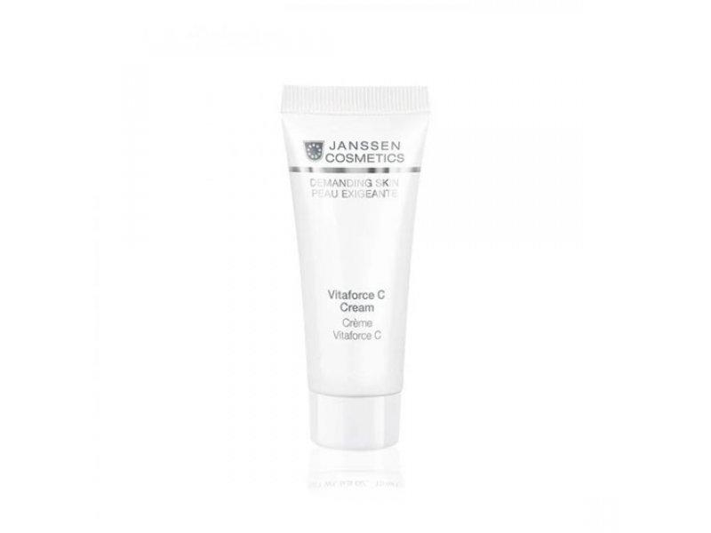 Регенерирующий крем с витамином Janssen Cosmetics С Vitaforce C Cream  Применение