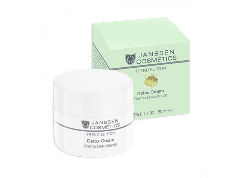 Janssen Антиоксидантный детокс-крем Skin Detox Cream