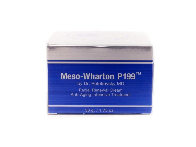 Омолаживающий крем для лица Мезовартон Facial Renewal Сream Meso-Wharton P199™, 50 мл.  Применение