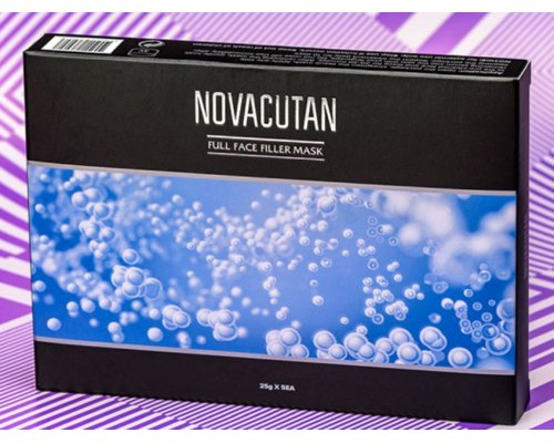 Novacutan Full Face Filler Mask МАСКА-ФИЛЛЕР ДЛЯ ЛИЦА, тканевая маска 5гр (1шт).