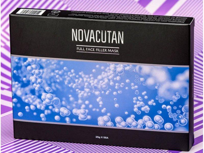 Novacutan тканевая маска для лица