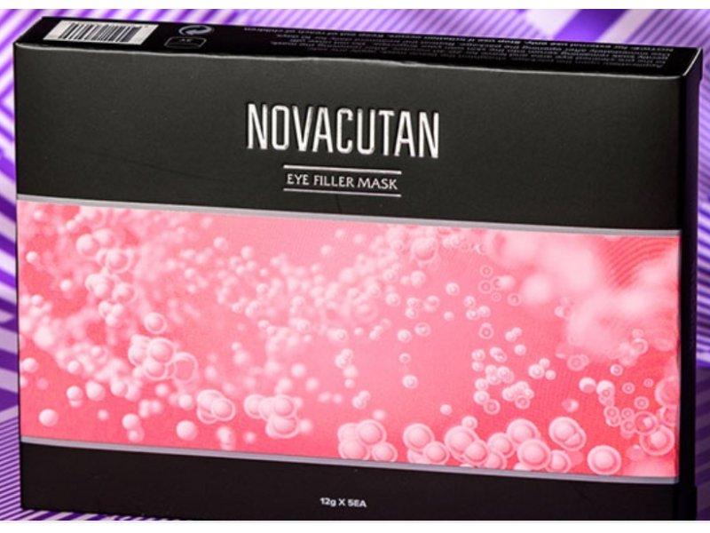 Novacutan тканевая маска для век