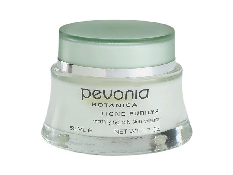 Pevonia Purilys Матирующий крем для жирной кожи, 50 мл.  Применение