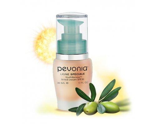Обновляющий крем с тональным эффектом Pevonia Speciale SPF30 30 мл.