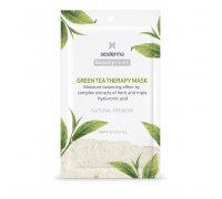 BEAUTY TREATS Green tea therapy mask - Маска увлажняющая для лица, 1 шт