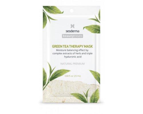 Sesderma BEAUTY TREATS Green tea therapy mask Маска увлажняющая для лица, 25 мл